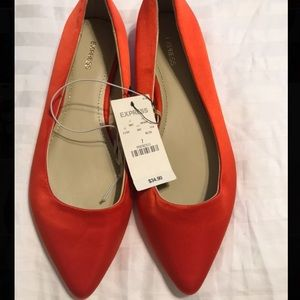 NWT Express pointed toe flats